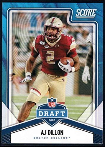2020 Score NFL Draft #16 AJ Dillon Boston College Eagles NFL Football Card NM-MT