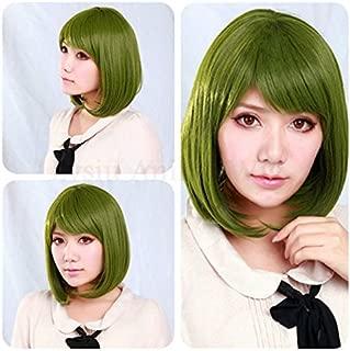 FidgetFidget Free! Iwatobi Swim Club Anime Tachibana Makoto Women Green Cosplay Costume Wig