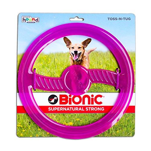 Outward Hound Bionic Toss N' Tug Hundespielzeug zum Apportieren und Kauen, OS, violett