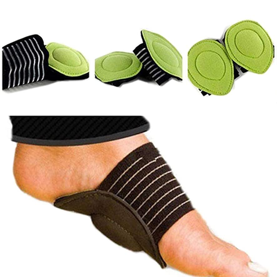 不振前奏曲真鍮5ペア足ヒールの痛みを軽減足底筋膜炎のインソールパッドアーチサポートシューズインサート