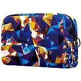 Bolso cosmético portátil del viaje del bolso cosmético bolso impermeable del almacenamiento,Playa Sunset Palm
