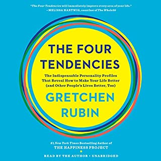 The Four Tendencies audiobook cover art