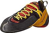 La Sportiva Unisex Genius Climbing Shoe, Red, 40.5