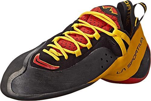 La Sportiva Genius Rock Climbing Shoe - Men's Red 39.5 by La Sportiva