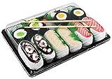 Rainbow Socks - Donna Uomo Calzini Sushi Salmone Butterfish Octopus 2x Maki - 5 Paia - Taglia 36-40