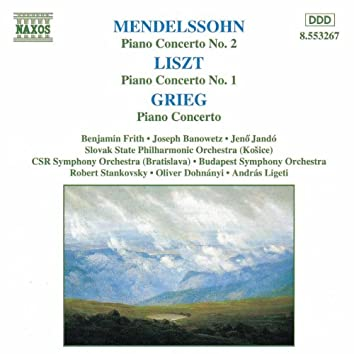 MENDELSSOHN / LISZT / GRIEG: Piano Concertos