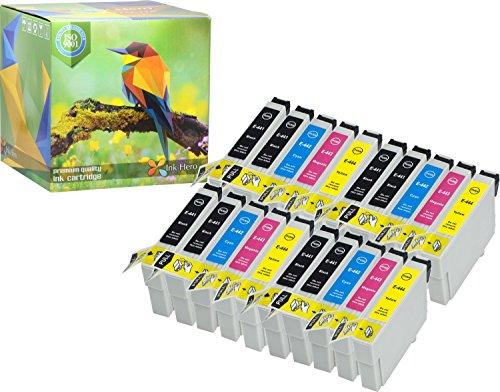 Ink Hero 20-Stück Tintenpatronen Preimum Epson T0445 T0441 T0442 T0443 T0444 Stylus C84 C84 Photo Edition C84N C84WN C86 C86 CX4600 CX6400 CX6600 44 druckerpatronen patronen