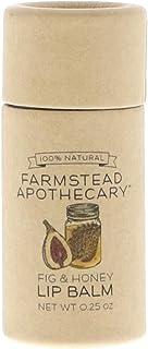 Farmstead Apothecary, Lip Balm Fig Honey, 0.25 Ounce