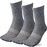 (C713R) 靴下 メンズ 3足組 踏ん張りがきく!滑り止め付のびのび先丸ソックス 軍足 杢 かかと つま先補強糸 安全靴 作業 スポーツ 24.5~27cm