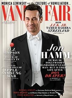 Vanity Fair Magazine (June, 2014) Jon Hamm Cover Monica Lewinsky