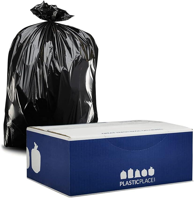 Plasticplace Contractor Trash Bags 33 Gallon He Mil - Max 42% OFF Max 87% OFF 3.0 Black
