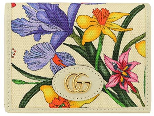 【アウトレット】[グッチ] GUCCI 財布 折財布 二つ折り ミニ 花柄 アウトレット 577347 [並行輸入品]