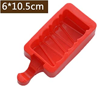 Cartoon Silicone Ice Cream Mold,Popsicle Molds With Popsicle Sticks Kitchen Tools,02