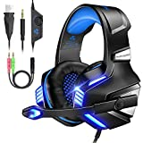VersionTECH. V-3 Gaming Headset for Xbox One PS4 PC, Over Ear Gaming Headphones