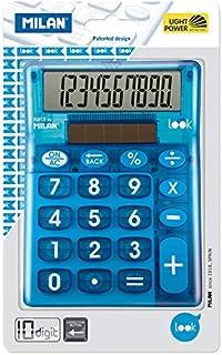 Milan 159906LKBBL - Calculadora, 10 dígitos, color azul