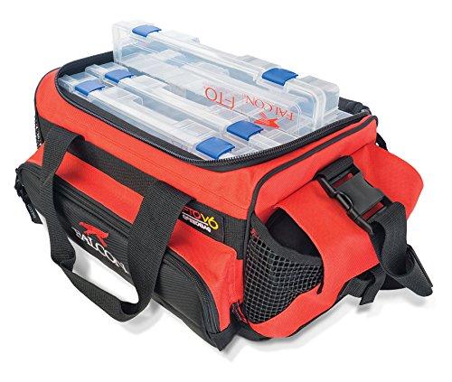tackle bags 2 Falcon Rods V6 Loaded Tackle Bag, Red (FT0-V6L)