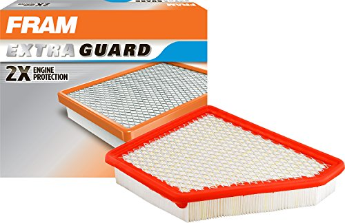 FRAM Extra Guard Air Filter, CA10465 for Select Chevrolet and GMC Vehicles
