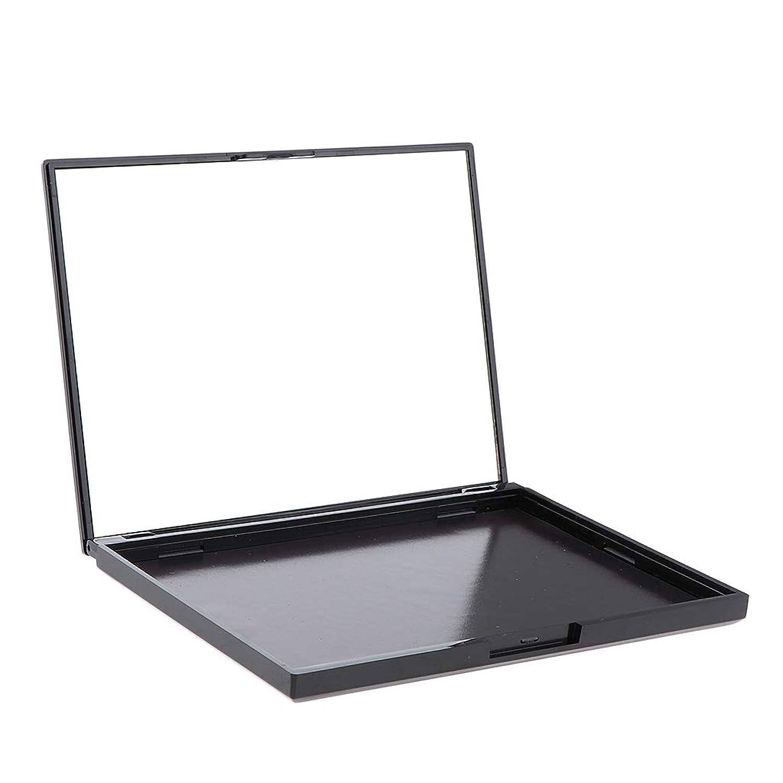 裁判所哲学一生CUTICATE 磁気パレットボックス 空の磁気パレット メイクアップ 化粧 コスメ 収納ボックス 便携 10x12cm 全4色 - ダイヤモンドスケルトン
