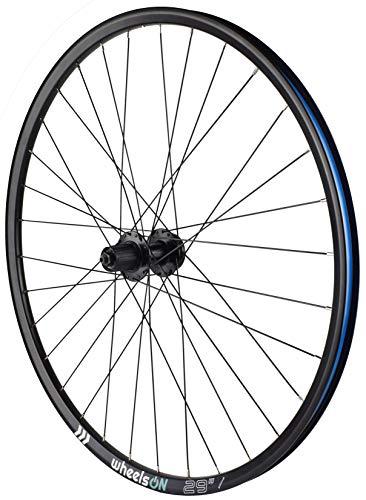 wheelsON 700c 29er Rear Wheel Mountain Bike QR Disc 8/9/10 Cassette 32H Black