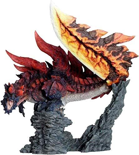 No Monster Hunter World Dinovaldo Dragon Model Figuras de Monstruo coleccionables Acción Japón Monster Hunter Anime Figura Anime Figurilla
