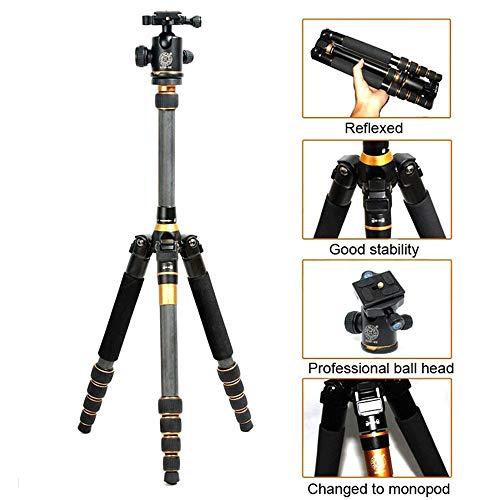 E-kinds Kohlefaser Stativ tragbare Spiegelreflexkamera Stativ Einbeinstativ Variable Alpenstock 3 In1 Wholese für Digitalkamera und Camcorder