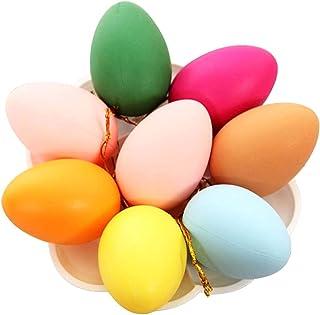 Vosarea 12pcs de Huevos de Pascua para cestas de Pascua Pascua PAQUES Caza faveurs de Fiesta y carnavals