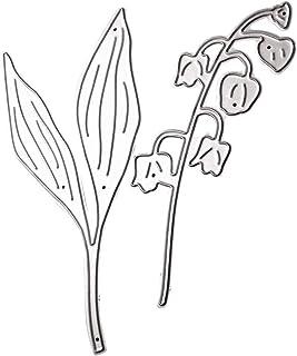 Benoon Matrices De Découpe Bricolage, Matrices De Découpe De Pochoir De Gaufrage en Métal, Coupe De Fleur De Feuille Die S...