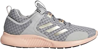 adidas Women's Edgebounce 1-5 Running Shoes Grey Two/Cyber Metallic/Glow Pink 8.5