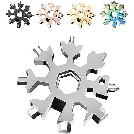 Saker 18-in-1 Edelstahl Schneeflocken Multifunktionswerkzeug