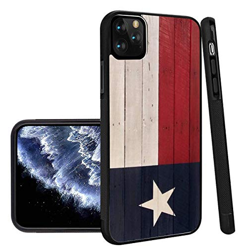 Deal Market LLC -Texas State Flag- Hard Rubber Phone case Compatible with Apple iPhone 12 Pro Max (2020 Model)