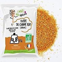 💙🤍❤️ EMBALLE EN FRANCE : notre sucre brun est emballé en France. Notre marque [Ma] bio-épicerie qui a pour objectif de vous proposer des produits de qualité de manière accessible. 🌱 CERTIFIE BIO : Le sucre brun est produit dans le respect de l'enviro...