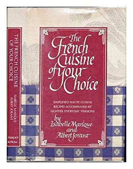 Hardcover The French Cuisine of Your Choice Book