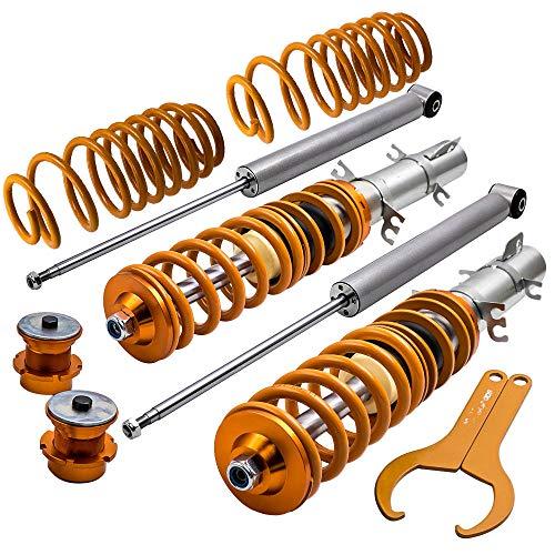 maXpeedingrods Coilovers Lowering Suspension Kits for VW Golf/Jetta/Bora/GLI/TDI MK4 1998 1999 2000 2001 2002 2003 2004 2005