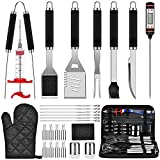 Best Bbq Tool Sets - 28PCS BBQ Grill Accessories Tools Set, Stainless Steel Review