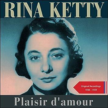 Plaisir d'amour (Original Recordings 1938 - 1939)