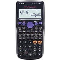 CASIO FX-350ES PLUS - Calculadora científica 80 x 162 x 13.8 mm, negro