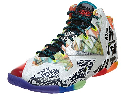 Nike Lebron 11 Premium - 12'What The Lebron - 650884 400