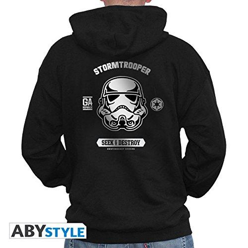 ABYstyle Star Wars - Sudadera para Hombre, Color Negro