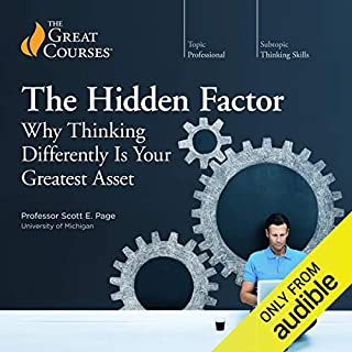 The Hidden Factor: Why Thinking Differently Is Your Greatest Asset audiobook cover art