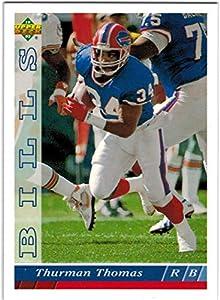 1993 Upper Deck AFC Champion Buffalo Bills Team Set with 2 Jim Kelly & 3 Thurman Thomas - 21 NFL Cards