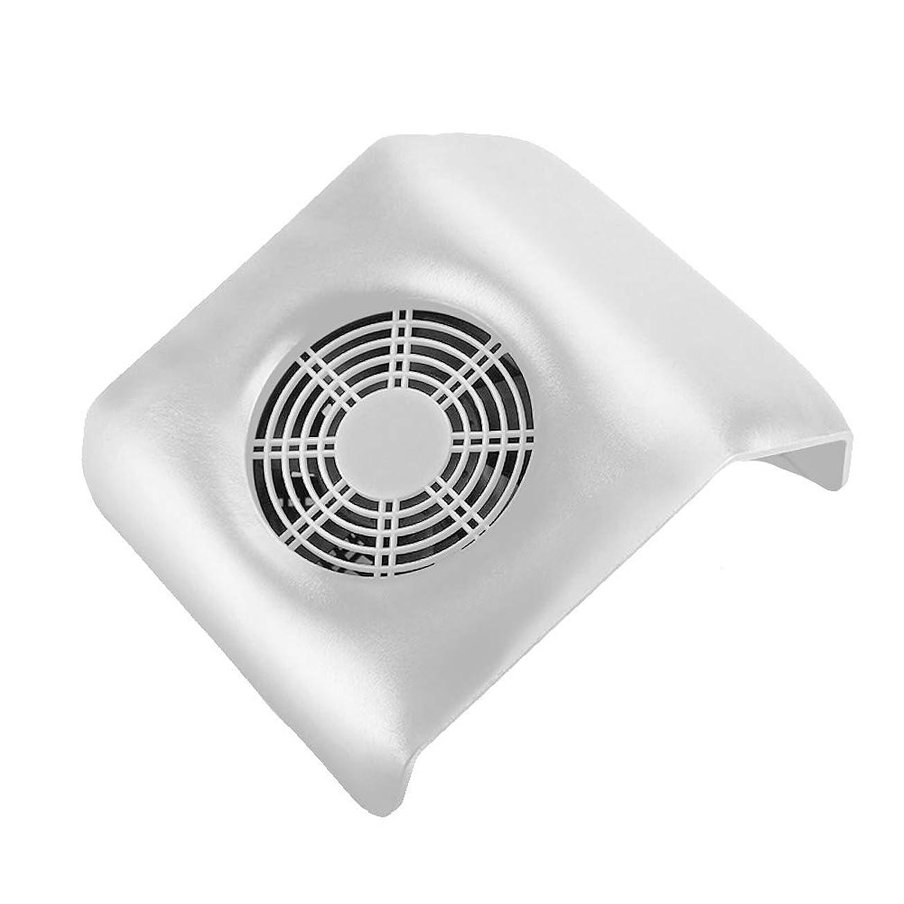 補助金紫の洞察力ネイル 集塵機 ネイルアート掃除機 ネイルマシン ネイルダスト ダストクリーナー ネイル機器 集塵バッグ付き ホワイト