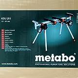 Metabo Untergestell für Kappsäge KSU 251 (Leichter Maschinenständer bis 250 Kilogramm, Länge bis 250 Zentimeter, Längenverstellbar und Höhenverstellbar) 629005000 - 4