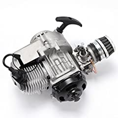 ★49cc mini motor air cooled racing engine,made of high quality material,durable. ▶Complete engine unit.Includes clutch, pullstart, bell, air filter, carburettor, coil, clutch an ★Engine suitable for: 47cc/49cc Pocket bike, mini dirt bike, mini ATV, o...
