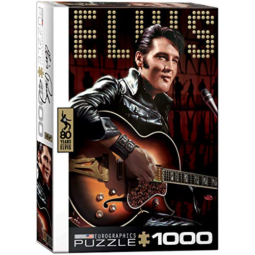 EuroGraphics 'Elvis Retrato Puzzle (1000 Piezas, Multi-Color)