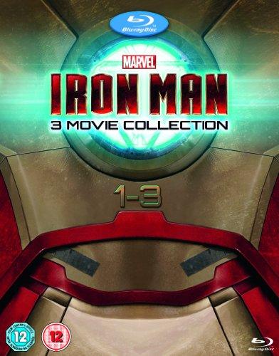 Iron Man 1-3 [Reino Unido] [Blu-ray]