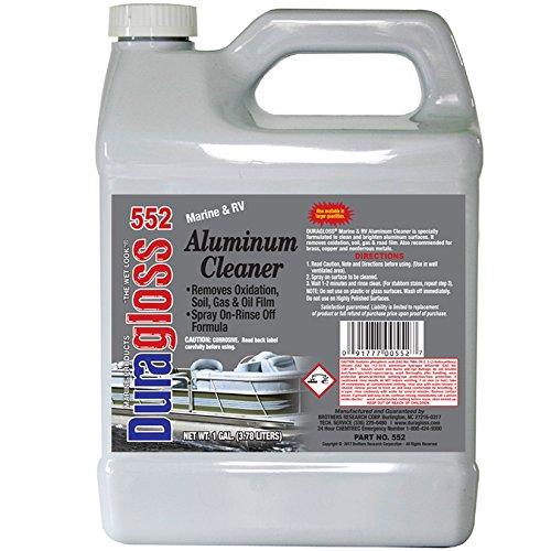 Duragloss 552 Marine and RV Aluminum Cleaner and Brightener, 1 Gallon,...