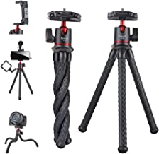 Camera Tripod,Famall Flexible Tripod Stand for Phone with...