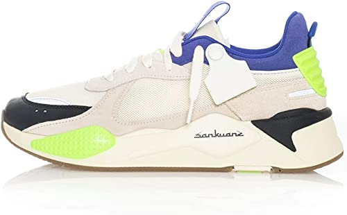 Puma Turnschuhe herren RS-X SANKUANZ 369610.01 (44.5-01 Cloud Cream-ROYAL Blau)
