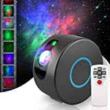 Galaxy Projector, Star Projector, Galaxy Light, Planetarium Projector, Starry Night Light Projector, Galaxy Projector for Bedroom, Night Sky Projector with Brightness Adjustment & 15 Light Modes