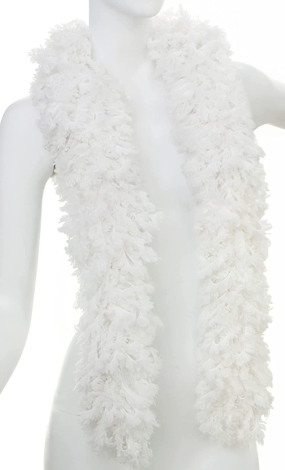Featherless Super-Sized Faux Feather Boa Made U.S. Max 46% OFF of Yarn P Ranking TOP7 -